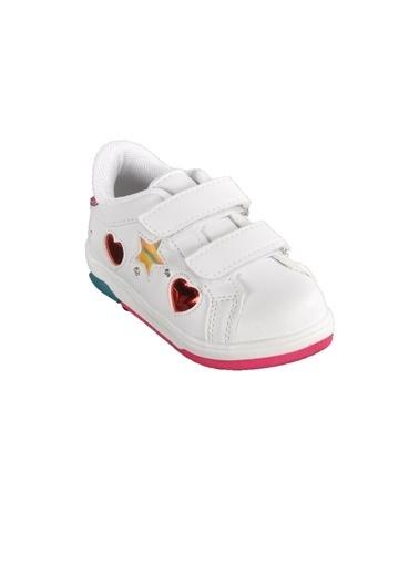 Cool 20-S21 B.Ayk Beyaz-Yeşıl  Çocuk Spor Ayakkabı Beyaz